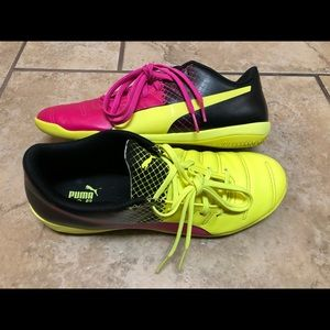 PUMA Evo Power 4.3 Shoes Sorbet Neon Pink Black